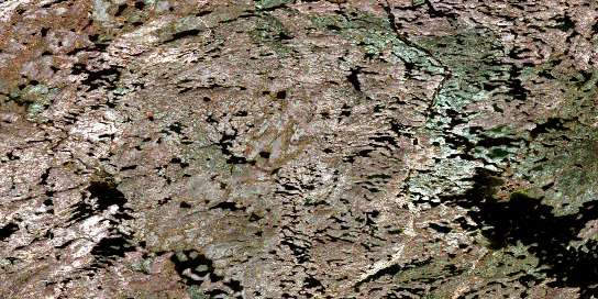 Tice Lake Satellite Map 064N14 at 1:50,000 scale - National Topographic System of Canada (NTS) - Orthophoto