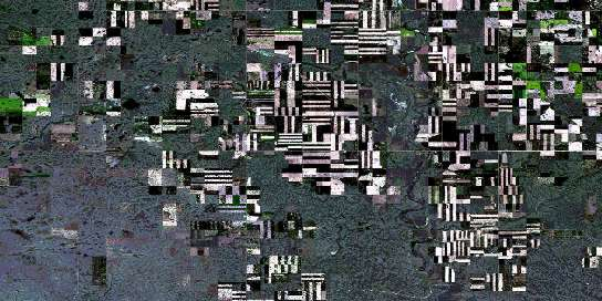 Cappon Satellite Map 072M02 at 1:50,000 scale - National Topographic System of Canada (NTS) - Orthophoto