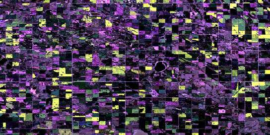 Clandonald Satellite Map 073E10 at 1:50,000 scale - National Topographic System of Canada (NTS) - Orthophoto