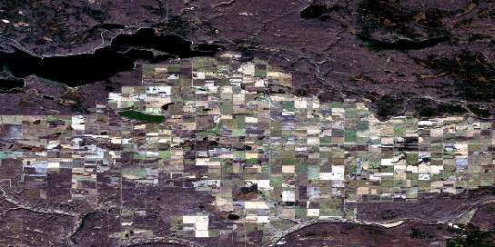 Goodsoil Satellite Map 073K06 at 1:50,000 scale - National Topographic System of Canada (NTS) - Orthophoto