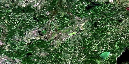 Air photo: Philomena Satellite Image map 073M04 at 1:50,000 Scale