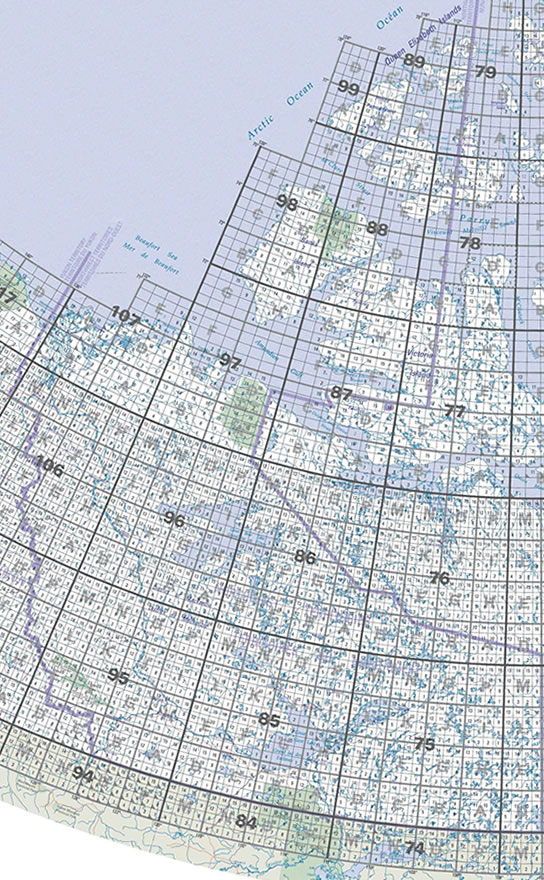NT Topographic Map Index