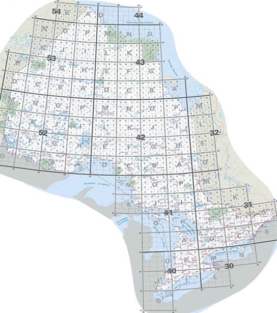 Free Ontario Topographic Maps Online - Terrain maps free